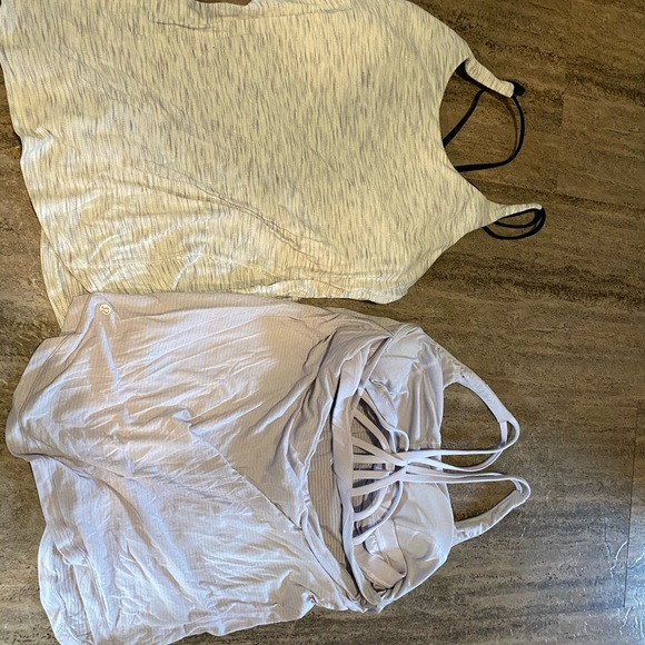 Size 10 lululemon tanks price is for both